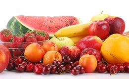 Aufbau mit Früchten Lizenzfreie Stockbilder