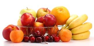 Aufbau mit Früchten Lizenzfreies Stockbild