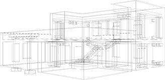 Aufbau-Perspektive 11 Stockbilder