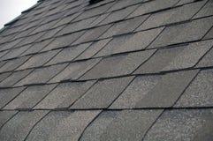 Aufbau-Schindel-Dach Stockbilder