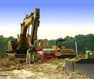 Aufbau - schwere Ausrüstung Stockbild