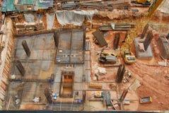 Aufbau Site3 Stockbilder