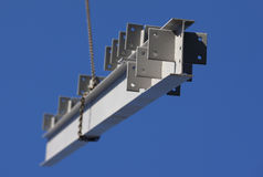 Aufbau-Stahl-Träger Stockfoto