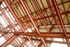 Aufbau-Stahlwerk Stockfotografie