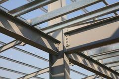 Aufbau-Stahlwerk-Feld Lizenzfreie Stockfotografie