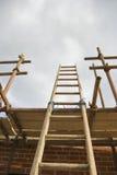 Aufbau-Strichleiter Stockbilder