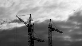 Aufbau von Wohnbu Stockfotografie