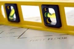 Aufbau-Wasserwaage Stockbilder