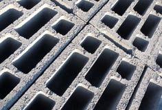 Aufbau-Ziegelsteine Stockfoto