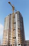 Aufbauen eines neuen Hauses Stockfoto