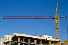 Aufbauen eines neuen Hauses Lizenzfreie Stockfotografie