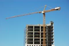 Aufbauen im Bau Stockbild