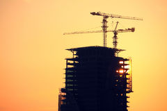 Aufbauen im Bau von SU Stockfoto