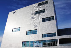 Aufbauen - moderne Architektur stockbild
