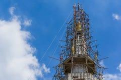 Aufbauender blauer Himmel Lizenzfreie Stockbilder