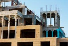 Aufbaugebäude stockfoto