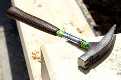 Aufbaugreiferhammer Stockfotos