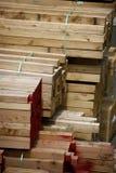 Aufbauholz Lizenzfreies Stockfoto