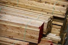 Aufbauholz Stockbild