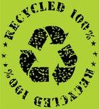 Aufbereiten-ökologisches Zeichen Stockfotografie