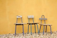 Aufbereitete Auslegung-Stühle Stockbild