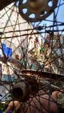 Aufbereitete errichtende Kunst Lizenzfreies Stockbild