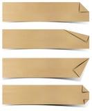 Aufbereitete Papiermarke stock abbildung