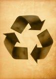 Aufbereiteter Papierfertigkeitsteuerknüppel Lizenzfreie Stockfotografie