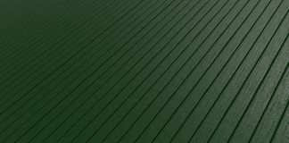 Aufbereitetes Plastikholz Stockfoto