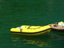 Aufblasbare Boote lizenzfreie stockbilder