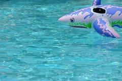 Aufblasbarer Haifisch Lizenzfreies Stockfoto
