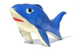 Aufblasbarer Haifisch Stockbild