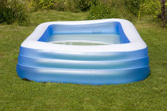 Aufblasbarer Swimmingpool Lizenzfreies Stockbild