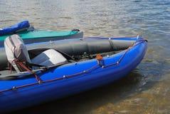 Aufblasbares Boot Stockfotografie