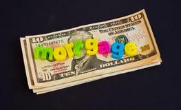 Aufbringen der Hypothekengelder. Lizenzfreie Stockbilder