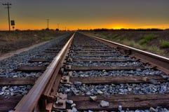 Aufenthalt auf Bahn Lizenzfreie Stockfotografie