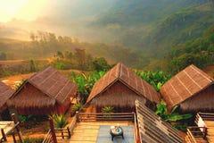 Aufenthalt in Gastfamilien bei Chiang Rai in Thailand stockfotografie