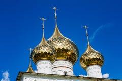 Auferstehungs-Kloster des 17. Jahrhunderts in Uglich, Russland Lizenzfreie Stockfotos