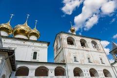Auferstehungs-Kloster des 17. Jahrhunderts in Uglich, Russland Lizenzfreies Stockfoto