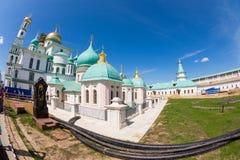 Auferstehungs-neues Jerusalem-Kloster in Istra Russland Lizenzfreies Stockfoto