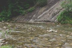 Auffälliger Fluss Stockbild