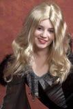Auffallende Blondine Stockfoto