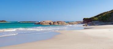 Auffallender Strand Stockbild