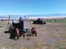 Auffangen von Garr-Ranch Stockfotografie