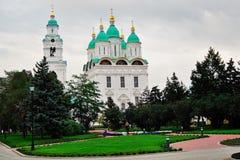 Aufgebaut in 1507-1533 Jahren Der Kreml in Astrakhan, Russland Farbfoto Stockfotografie