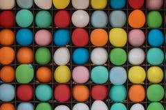 Aufgeblähte Ballone bereit, am Messen-Spiel geknallt zu werden Stockfotografie