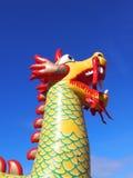 Aufgeblähter chinesischer Drache Lizenzfreie Stockfotografie
