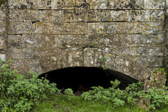 Aufgegebener Aquädukt Stockbild