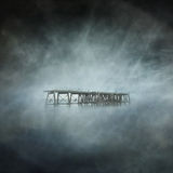 Aufgegebener Pier Stockfoto