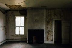 Aufgegebener Raum - verlassener Dudley Snowden House - Appalachen - Kentucky Stockfotos